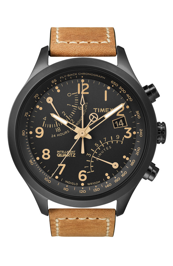 Timex 'Intelligent Quartz' Flyback Chronograph