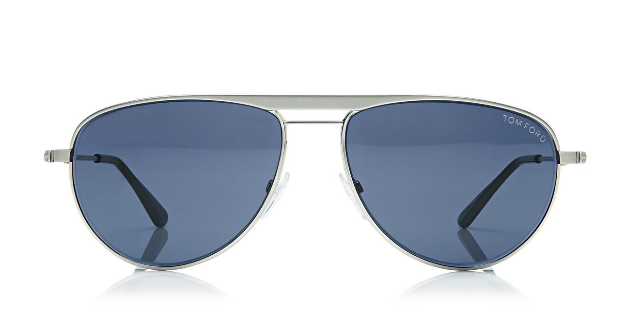 Tom Ford William Aviator Sunglasses in Palladium