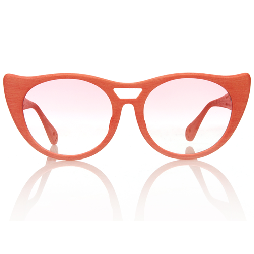 Tsumori Chisato Pink Cat-eye sunglasses