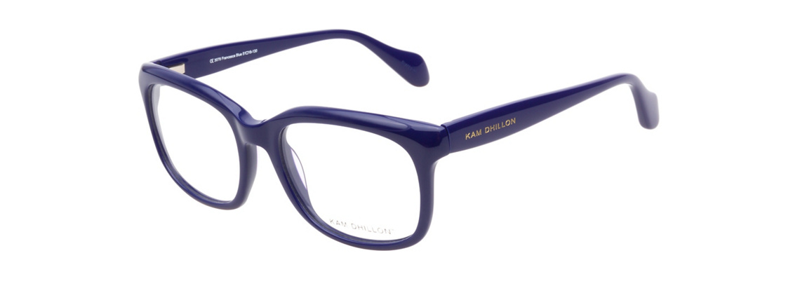 Kam Dhillon 3078 Francesca Blue Eyeglasses