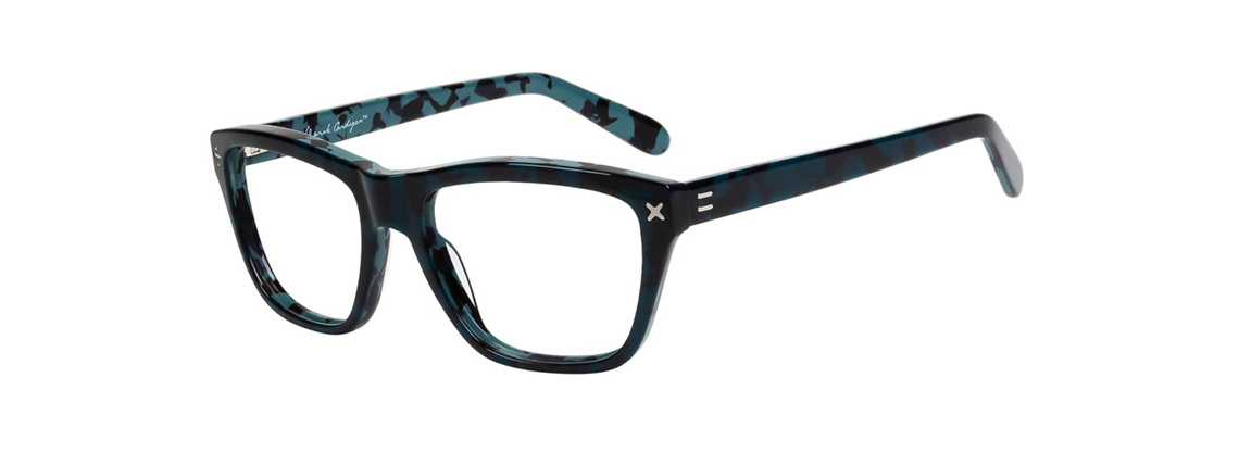 Derek Cardigan 7017 Navy Teal Eyeglasses