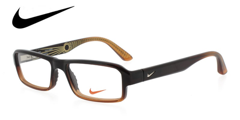 Nike 5510 Brown Prescription Glasses