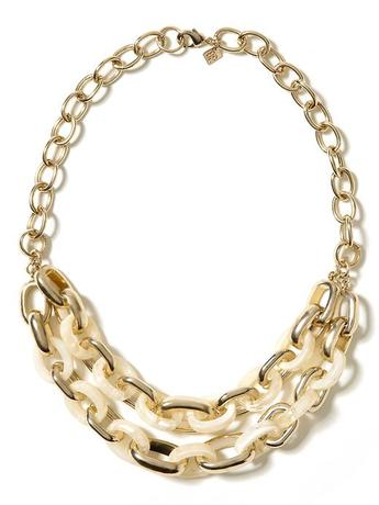 Banana Republic Love Link Necklace