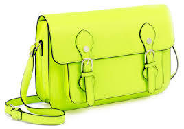 Yellow Patent Cross-Body Bag by Steve Madden