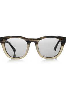 The Row Square-Frame Acetate Sunglasses