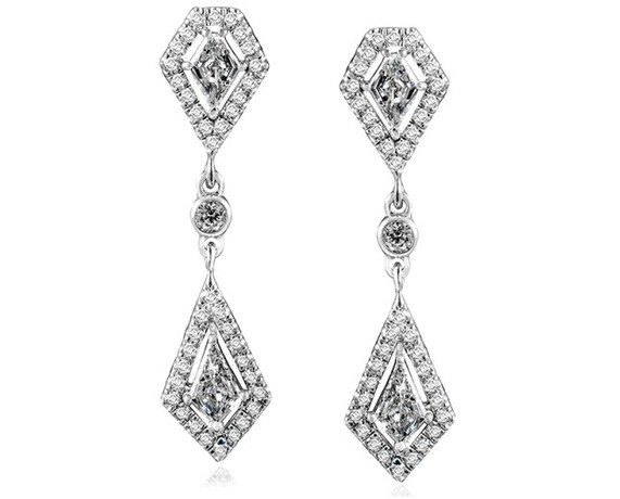 Kobelli Diamond Dangle Earrings