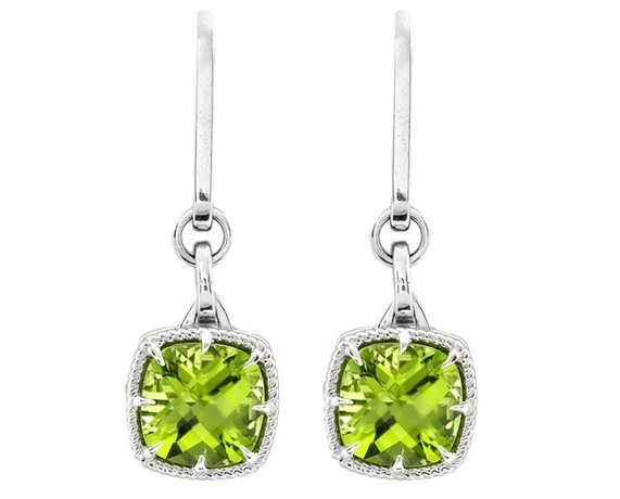 Kobelli Peridot Dangle Earrings