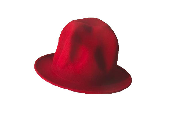Vivienne Westwood Red Mountain Hat