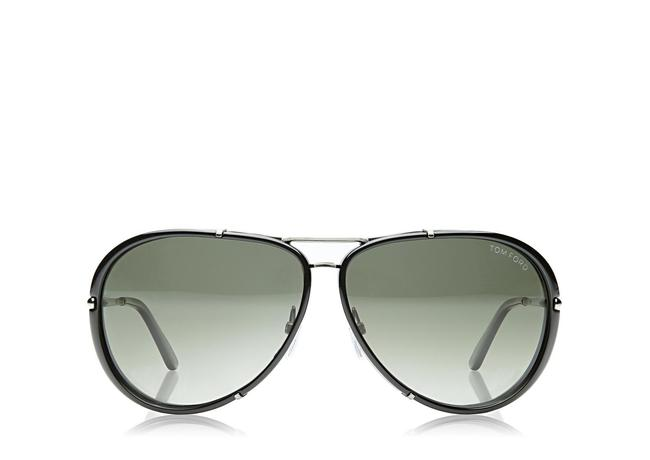 Tom Ford Cyrille Aviator Polarized Sunglasses