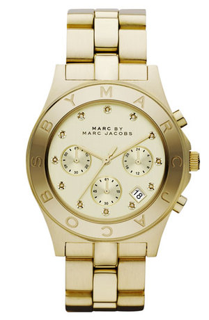 Marc By Marc Jacobs Blade Crystal Index Watch