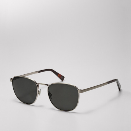 90s Inspired Round Frame Sunglasses by Fossil