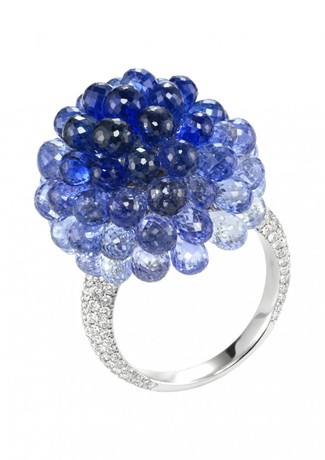 Chopard Sapphire and Diamonds Copacabana Ring