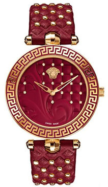 Versace Red Vanitas with Diamonds