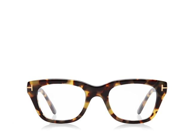 Tom Ford Vintage Havana Classic Soft Square Optical Frame