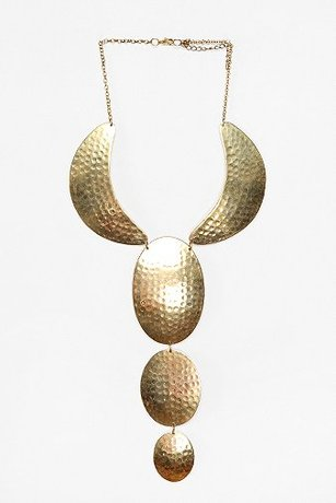 Pinamar Metal Beach Necklace