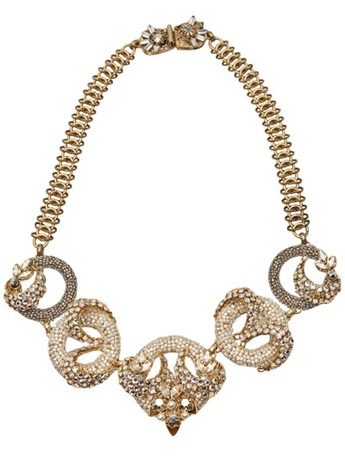 Miriam Haskell for Decades Pearl & Crystal Necklace