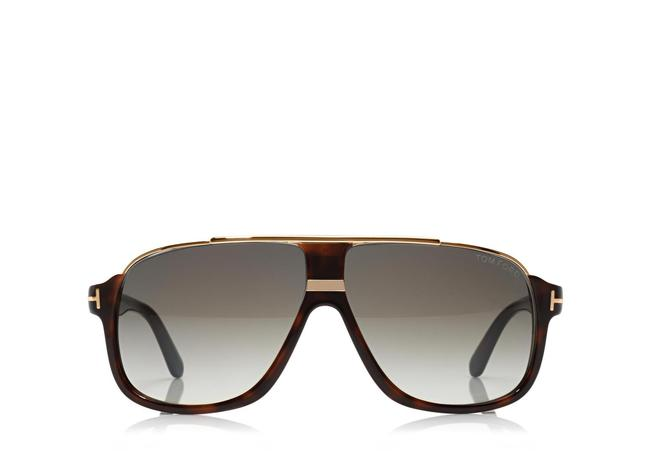 Tom Ford Dark Havana Elliot Square Sunglasses