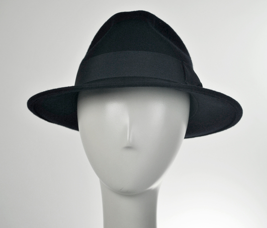 Jaxon C-Crown Crushable Fedora Hat