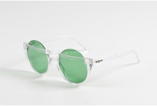 Henry Holland for Le Spec Muffin Top Clear/Green Sunglasses