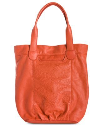 Lucky Brand Paisley Embossed Trippin Out Tote