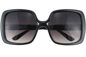 Black Squared Sunglasses by Retro City Sunglasses