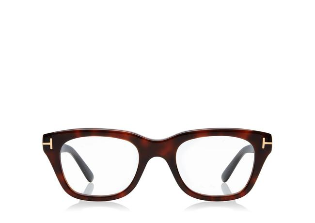 Tom Ford Dark Havana Classic Soft Square Optical Frame