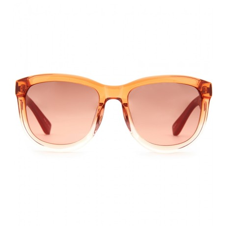 The Row Leather Detailed Gradient Sunglasses