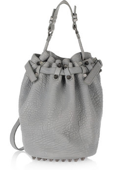 Alexander Wang Diego textured leather shoulder bag