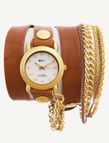 Multichain Wrap Watch by La Mer
