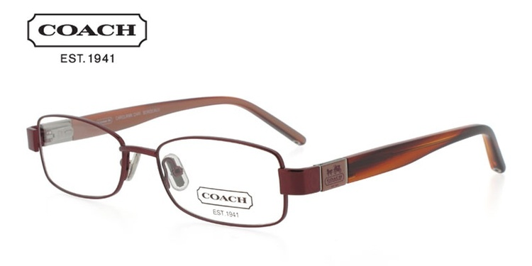 Coach Carolann 244 Red Prescription Glasses