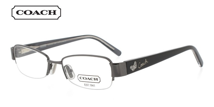 Coach Cheyenne 1028 Gunmetal Prescription Glasses