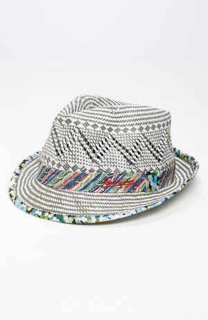 Colorful Straw Fedora by Robert Graham at Nordstrom