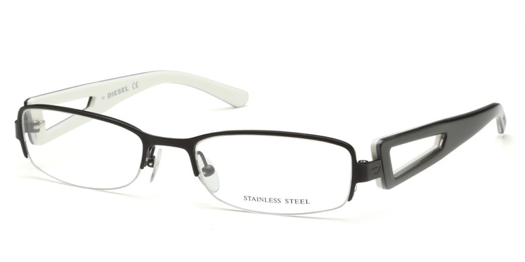 Diesel DV87 Black Prescription Glasses