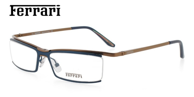 Ferrari FR5014 Blue Prescription Glasses