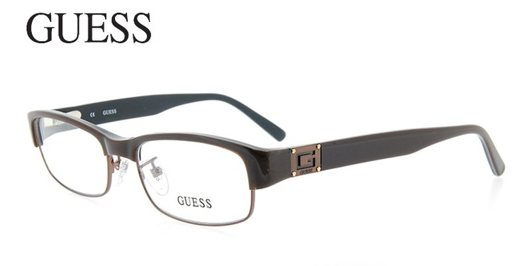 Guess GUA1689 Brown Prescription Glasses