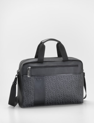 Logo Laptop Bag by Calvin Klein