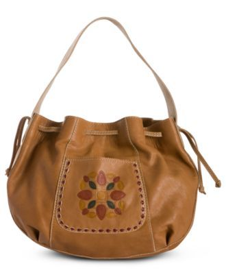 Lucky Brand Embossed Del Mar Hobo