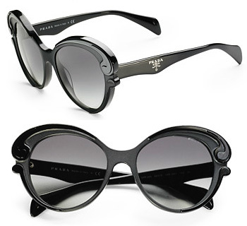 Prada Baroque Cat-Eye Sunglasses