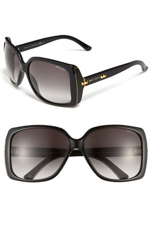 Squared Frame Jimmy Choo Sunglasses