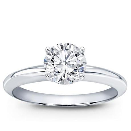 Adiamor Classic Solitaire Engagement Ring