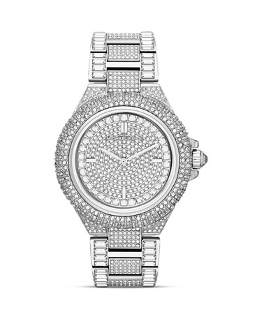 Michael Kors Mid-Size Camille Chronograph Glitz Watch