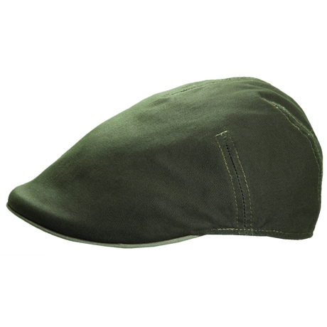 Mens Stetson Olive Green Twill Cap