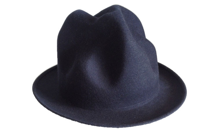 Vivienne Westwood Navy Blue Mountain Hat