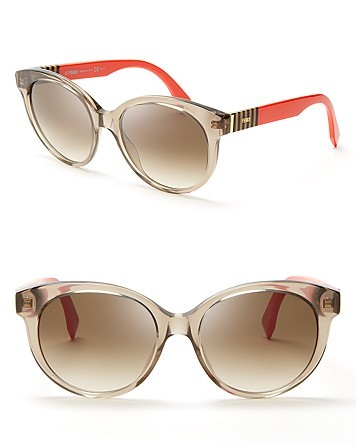 Fendi Rounded Wayfarer Sunglasses