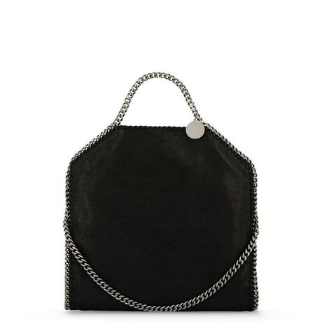 Stella McCartney 'Falabella' Shaggy Deer Fold Over Tote