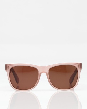 Need Supply Co Basic Matte Trans Light Pink Sunglasses