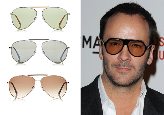 Tom Ford Knows Aviator Sunglasses