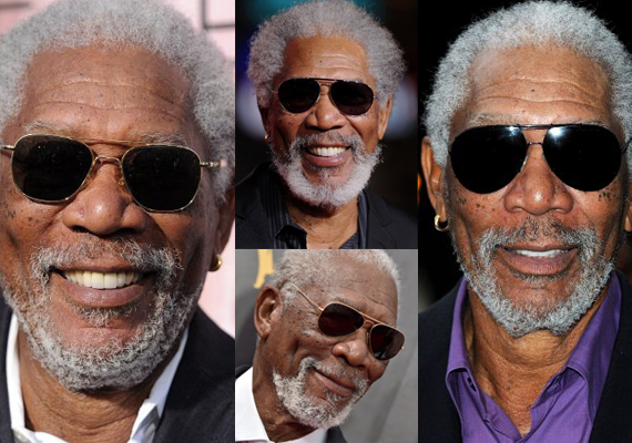 Morgan Freeman Flying Aviators