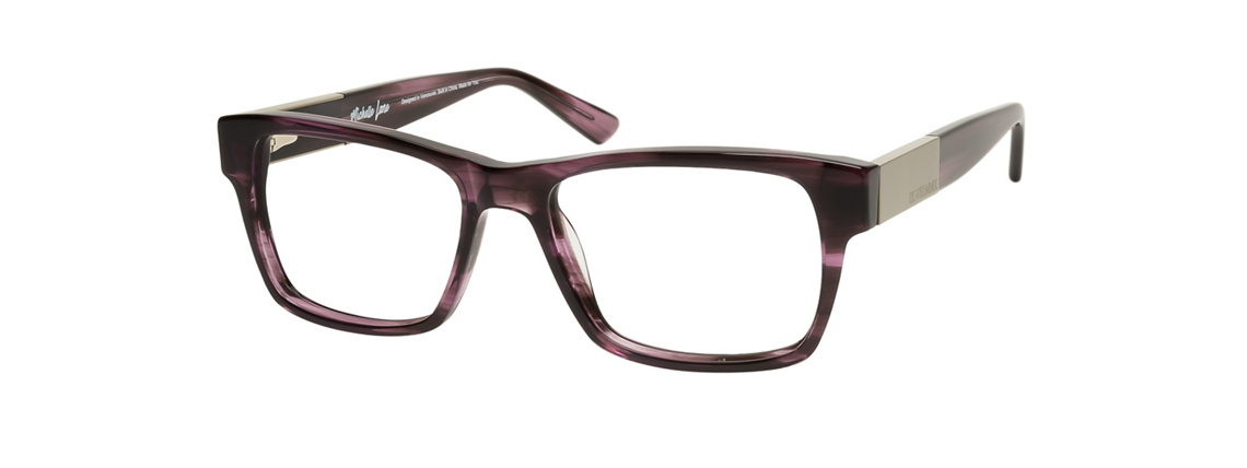 Michelle Lane Chelsea Purple Eyeglasses